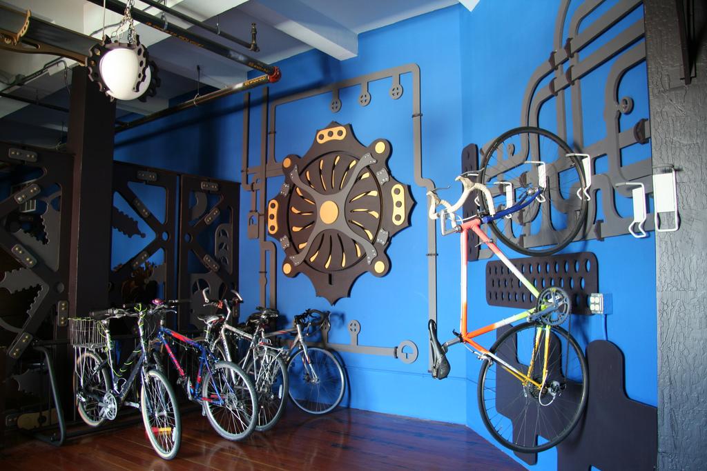 Steampunk Interior Design Office