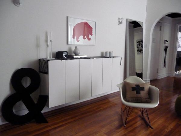 Ikea Faux Credenza : Credenza white locker stand ikea hack u mixedemotions