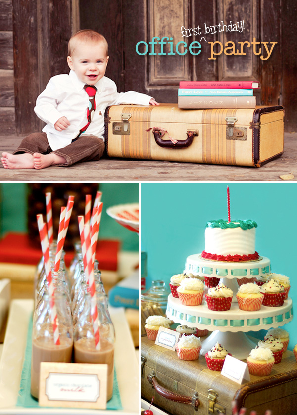 Little Sooti: Office Party First Birthday Party