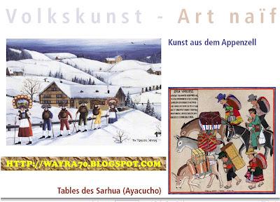 Invitación a la Exposición de Tablas de Sarhua en Europa