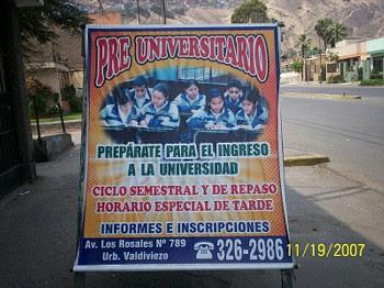Servicios que brinda la I.E. Oscar Miró Quesada