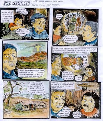 HISTORIETA DE LOS GENTILES. FUENTE: WEB PROYECTO CATAMAYO- CHIRA