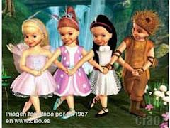 PERSONAJE: Carlita la Zoriilla. PELÍCULA: Barbie Lago de los Cisnes