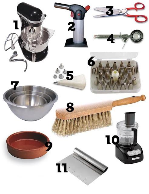 Mat riel obligatoire dans votre cuisine rose madeleine - Nom de materiel de cuisine ...