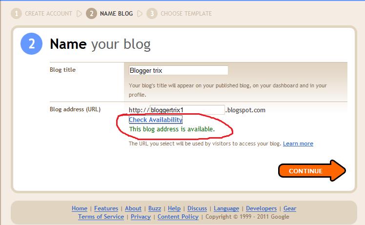 how to get a blog site