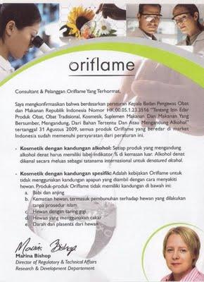 Kantor Pusat Oriflame Indonesia