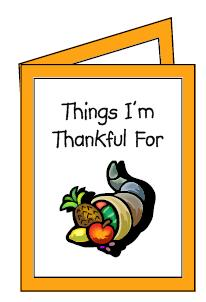 thanksgiving essay lesson plan