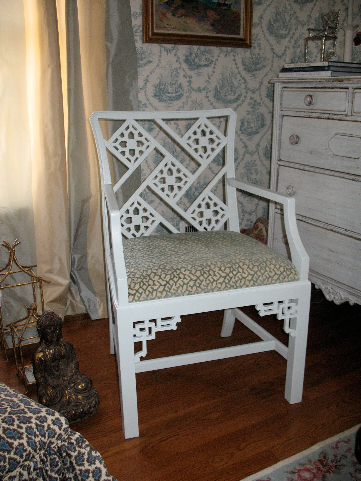 A Pastel Look At The Chinese Chippendale Chair