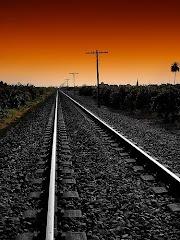 La estación quedó atras y ya es historia.