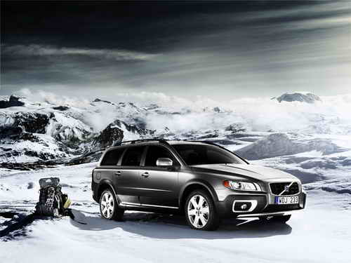 Volvo XC70 is one of the best cars for a trip to the ski slopes.