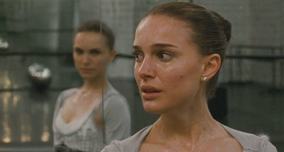 natalie portman white dress in black. Natalie Portman Black Swan