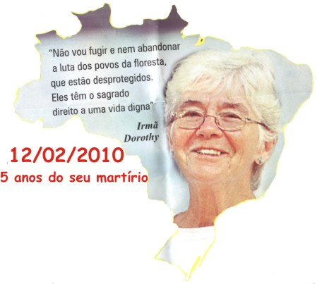 Cartas escritas por irm Dorothy sero divulgadas por sua Congregao