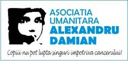 Alex Damian ajută copiii bolnavi de cancer