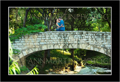 engagement couple pictures outdoors natural light in summer on bridge