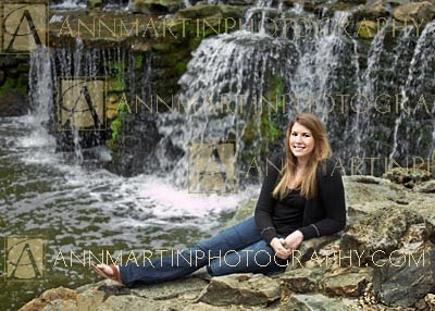 senior portrait of girl from Plano West Senior High School