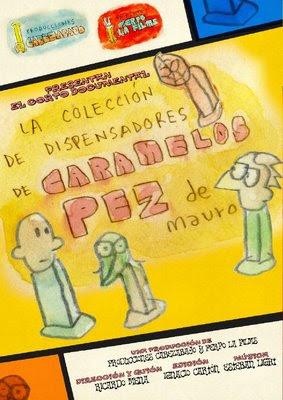 La colección de dispensadores de Caramelos Pez de Mauro