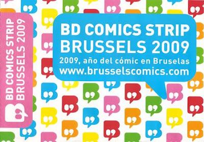 Año del Cómic en Bruselas