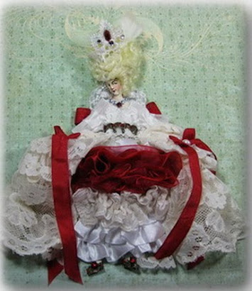 Marie Antoinette Paperdoll