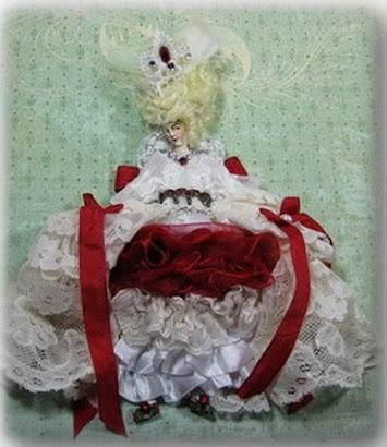 Marie Antoinette Paperdoll