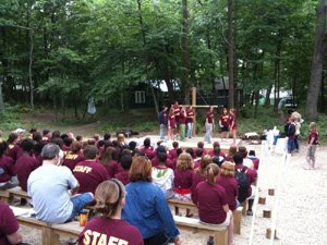 Camp Closing Ceremony for Session III