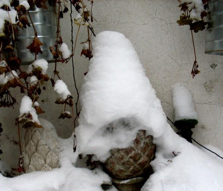 Garten anders herbst und winterdekoration farbe im for Gartendeko im winter
