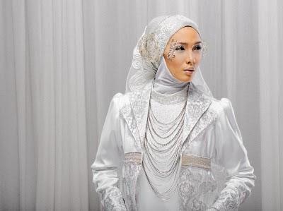 Jubah Pengantin Muslimah