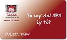 "Tarjeta ""FAPA"" para socios del APA"
