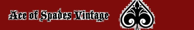 Ace of Spades Vintage Blog