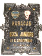En el hall de la Bombonera