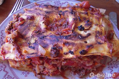 lasagne sans bechamel