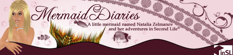 Mermaid Diaries: Natalia Zelmanov&#39;s Second Life Adventures