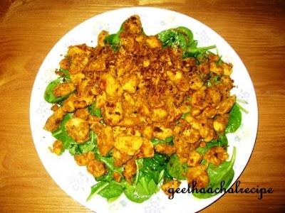 CSpicy salad