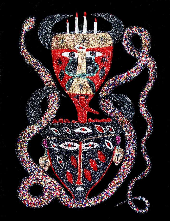 New Orleans Art Insider Saints Sinners Haitian Vodou Art At The Cac