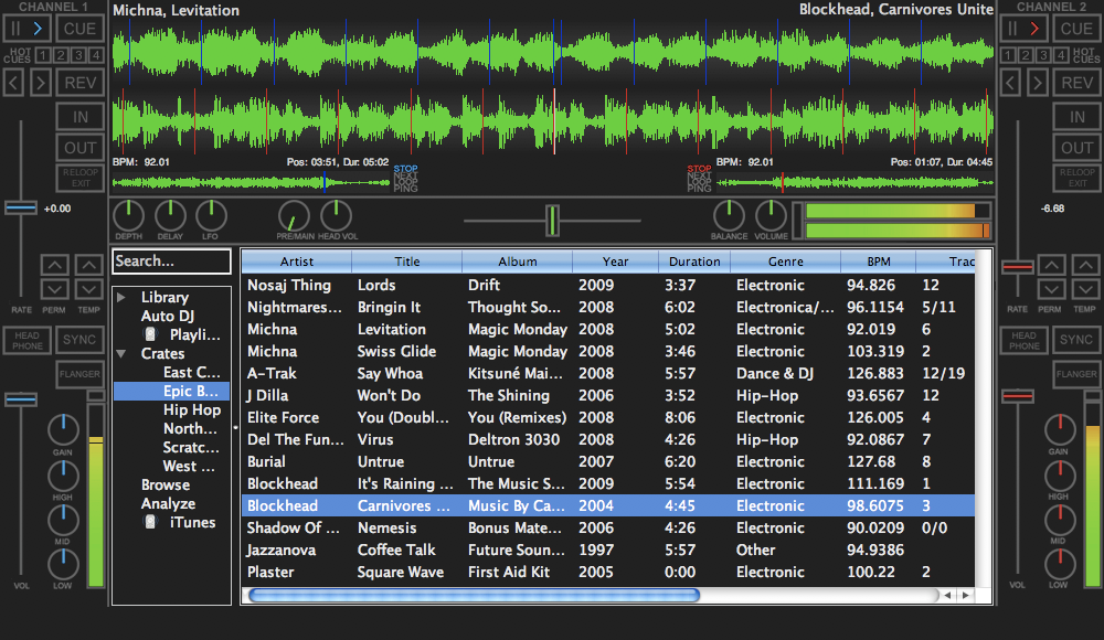 PC DJ Mixer Software Free Download