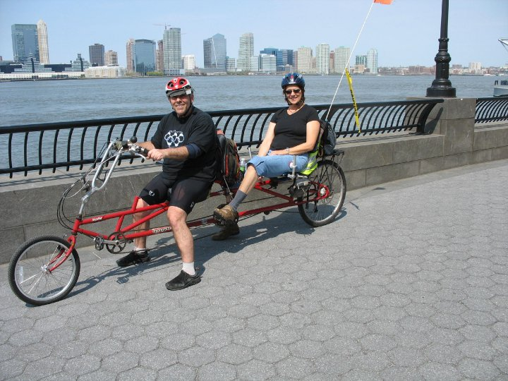 Urban mobility project battery park city ny recumbent for Motorized wheelchair rental nyc