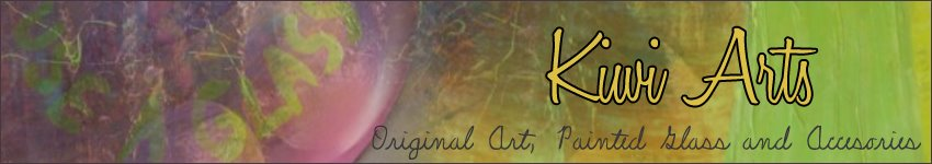 Kiwi Arts - Original Art, Painted Glass and Accesories