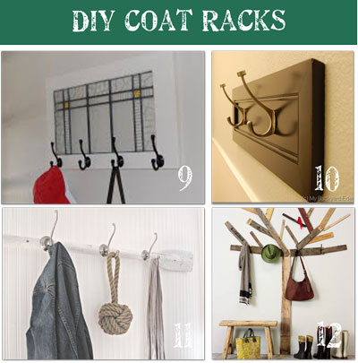 Being intertwined coat rack ideas for Entry coat hook ideas