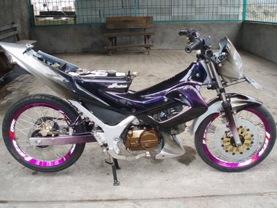 Modifikasi Motor Yamaha Scorpio All Style Modification