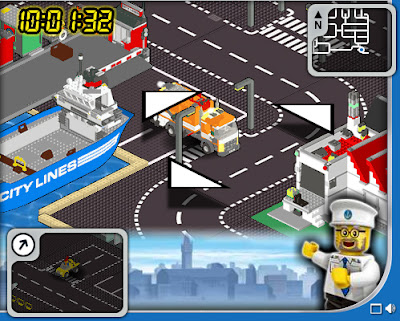 Online Drawing Games: LEGO City Game by 4T2