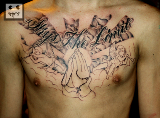 Sky's the Limit Tattoo http://r2g2collection.blogspot.com/2011_01_01_archive.html