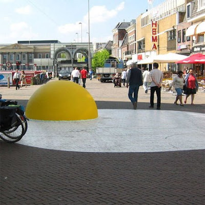 Giant Eggs in Netherlands