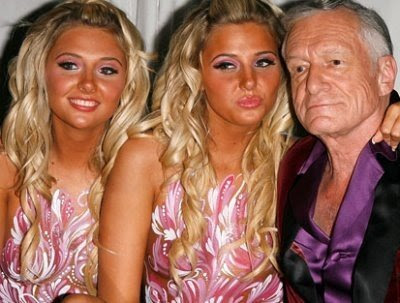 Karissa and Kristina Shannon Twins Are Hugh Hefner's New Girlfriends