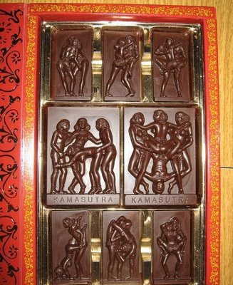 Weird chocolate Art