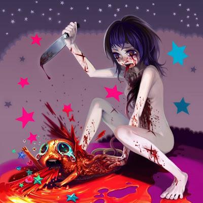 Bloody Drawings