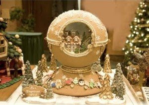 Gingerbread House in an Egg/Snowglobe