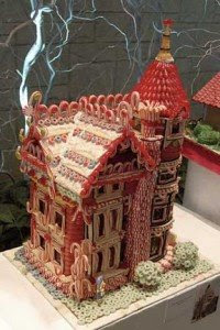 Twizzler Gingerbread House<br />