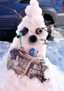 AMY WINEHOUSE snowman