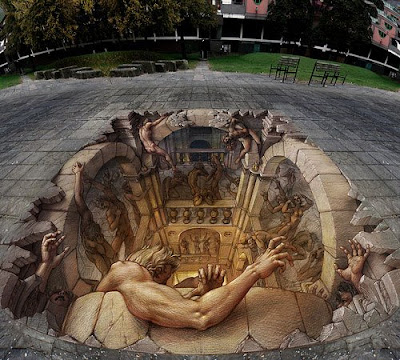 Extremely Creative 3D Street Art Around the World