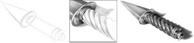 Photo realistic Dagger Drawing