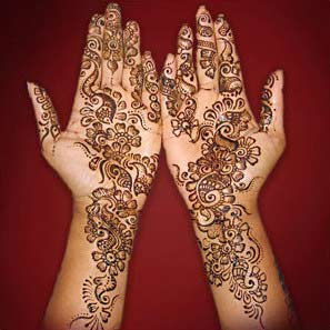 indian mehndi patterns